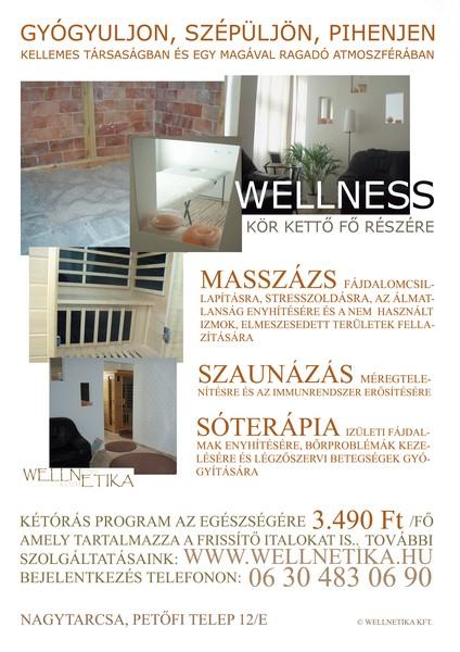 WELLNETIKA - wellness és szépség szalon